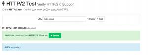 HTTP/2 Teste OK